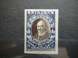 Lietuva Litauen Lituanie Litouwen  Lithuania # 1933 MH # Mi. 359 B - Lituanie