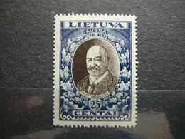 Lietuva Litauen Lituanie Litouwen  Lithuania # 1933 MH # Mi. 359 A - Lituanie