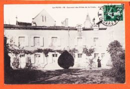 X86039 Peu Commun LA PUYE 86-Vienne  Couvent FILLES CROIX Aumonerie 1909 à De VIGNERIE Rue Dalbade Toulouse - Francia