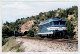 FRANCIA C.P. PICC.  ENSUES  LA  REDONNE    TRAIN- ZUG- TREIN- TRENI- GARE- BAHNHOF- STATION- STAZIONI  2 SCAN  (NUOVA) - Trains