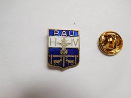 Superbe Pin's En EGF , Blason De La Ville De Pau , Henri IV - Cities