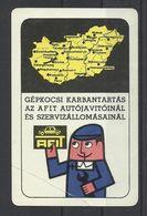 """Hungary, """"Afit"""", Car Service Ad, 1970. - Formato Piccolo : 1961-70"""