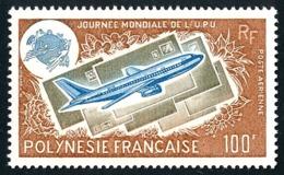 POLYNESIE 1975 - Yv. PA 97 ** SUP  Cote= 31,00 EUR - Journée De L'UPU  ..Réf.POL25171 - Poste Aérienne