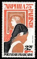 POLYNESIE 1975 - Yv. PA 92 **   Cote= 10,00 EUR - Expo Phil. ARPHILA75 à Paris  ..Réf.POL25168 - Poste Aérienne