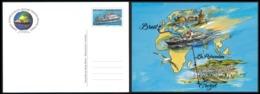 TAAF 2008 - Entier Postal  Yv. 3-CP ** SUP    - Bateau Marion Dufresne. Aquarelle De S. Marko  ..Réf.TAF21107 - Entiers Postaux