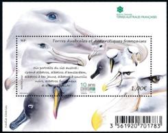 TAAF 2016 - Yv. F790 ** SUP    - Feuillet Faune. Oiseaux. Albatros  ..Réf.TAF21105 - Neufs