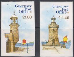 Guernsey 1988 Views Booklets (lighthouse) ** Mnh (48743) - Guernsey