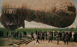 Vor Dem Aufsteigen Des Fesselballons.   WWI WWICOLLECTION - Guerre 1914-18