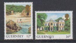 Guernsey 1988 Definitives Views  2v ** Mnh (48744A) - Guernsey