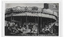 Top Photocarte D'un Carrousel Galopant, Rorives à Quaregnon   (Manège, Foire, Forain) - Unclassified