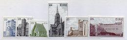 CI1090 - IRLANDA 1982 , Ordinaria 6 Val Unificato N. 487/492  ***  MNH. Architettura - Nuovi