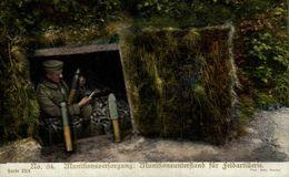 Munitionsverforgung.   WWI WWICOLLECTION - Weltkrieg 1914-18