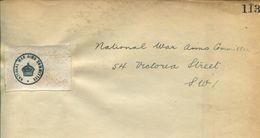 GB WORLD WAR I PARLIAMENT PROPAGANDA OFFICAL SPECIMEN BEAVERBOOK - Servizio