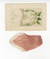 7256  CPA Brodée - 1910-20 -  Avec Rabat Et Mouchoir En Dentelle - Embroidered