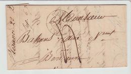 GERS: PLAISANCE CàD Type 14 + TM 4 / LAC De 1837 Pour Bordeaux - Marcophilie (Lettres)