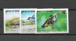 1993 MNH Wallis Et Futuna Mi 636-8 - Wallis And Futuna