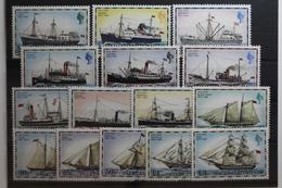 Falklandinseln 255-269 ** Postfrisch #UN527 - Falkland
