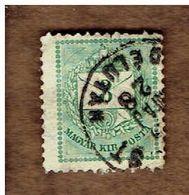 HONGRIE.  (Y&T) 1881. .n°19A B   * Gravés*    3kr*  Obli - Used Stamps