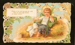 Religione SANTINO Pieuse Image Religieuse Holy Card Gesù Bambino  Riproduzione Di Antica Immagine - Religione & Esoterismo