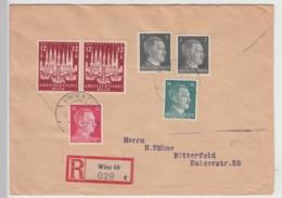 (B845) Bedarfsbrief DR, R-Brief, MiF, 1943 - Alemania