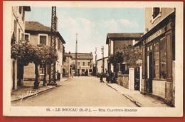 64 - LE BOUCAU -Rue Claudius-Magnin- Commerce BOUHEREN-  Recto Verso - Boucau