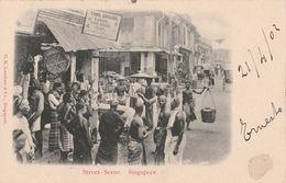 Cartolina - Postcard /  Viaggiata - Sent /  Singapore, Street - Scene - Singapore