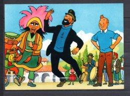 Tintin Et Le Temple Du Soleil - Tintin, Haddock Et Les Danseurs Masqués - Editions Yvon N° 17 - Bandes Dessinées