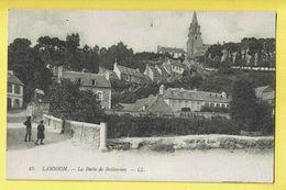 * Lannion (Dép 22 - Cotes D'Armor - France) * (LL, Nr 15) La Butte De Brélevenez, église, Animée, Rare, Old, Pont - Lannion