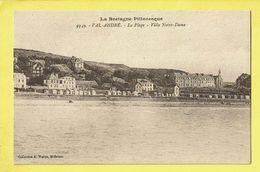 * Val André (Dép 22 - Cotes D'Armor - France) * (Collection A. Waron, Nr 9349) Bretagne, Plage, Villa Notre Dame, Beach - Sonstige Gemeinden