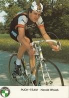 Autogrammkarte - Harald Wisiak - PUCH-TEAM ( Österr. Staatsmeister) - Cyclisme