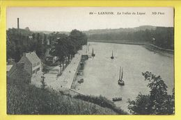 * Lannion (Dép 22 - Cotes D'Armor - France) * (ND Phot, Nr 464) La Vallée Du Légué, Canal, Quai, Bateau, Voilier, Old - Lannion
