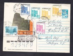 1993. Azerbaïjan.Letter Azerbaijan Baku - Russia .Moscow. - Azerbaïjan