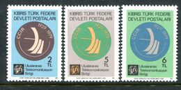 Cyprus - Turkish Cypriot Posts - 1979 50th Anniversary Of International Consultative Radio Set MNH (SG 82-84) - Cyprus (Turkey)