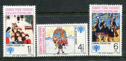 Cyprus - Turkish Cypriot Posts - 1979 International Year Of The Child Set MNH (SG 85-87) - Cyprus (Turkey)