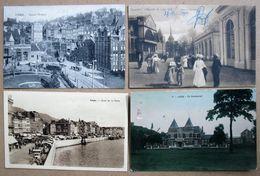 LOT 65 CPA/CPSM - BELGIQUE - VILLES ET VILLAGES PROVINCE DE LIEGE - Petites Cartes - Quelques Belles Animations - Belgio