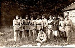 Carte Photo Mess Des Officiers Du 54ème RAC 1924, Noms Au Dos. - Guerre, Militaire
