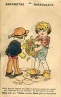 TOP PEU COMMUNE ! SIGNEE GERMAINE BOURET BAROMETRE THEMES ILLUSTRATEURS EDITEUR NO EMY NO GIB ENFANTS - Bouret, Germaine