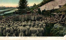 Lutherischer Bottesdienst   WWI WWICOLLECTION - Guerre 1914-18