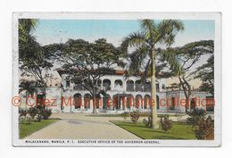MALACANANG MANILA MANILLE EXECUTIVE OFFICE OF THE GOVERNOR GENERAL CUIRASSE WALDECK ROUSSEAU - CPA - Filippine