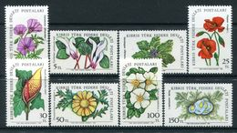 Cyprus - Turkish Cypriot Posts - 1981-82 Flowers Set MNH (SG 109-116) - Cyprus (Turkey)