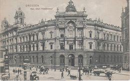 AK Dresden Kaiserliche Ober Postdirektion Post Postamt Stadthaus A Annenstraße Postplatz Am See Große Zwingerstraße - Dresden
