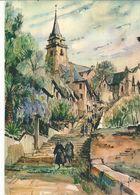 CPSM,.D. 22, N°51, Lannion , Escalier De Brélevenez , Ed. Yvon 1965 - Lannion