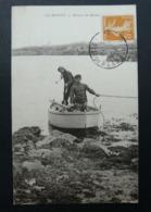 CPA- île Bréhat - Retour De Pêche- Oblitérée En 1922 - M.Le Deley Paris - Pêche