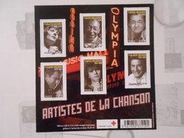FRANCE YT F4605 ARTISTES DE LA CHANSON** - Blocs & Feuillets