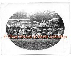 GROUPE D ENFANTS DEGUISES EN CHINOIS - PHOTO 11.5*9 CM - Personnes Anonymes