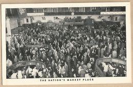 CPA Etats-Unis > NY - New York City - The Nation' Market Place - The Exchange - Autres Monuments, édifices