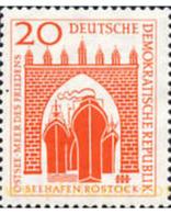 Ref. 629052 * MNH * - GERMAN DEMOCRATIC REPUBLIC. 1958. ROSTOCK PORT RECONSTRUCTION . RECONSTRUCCION DEL PUERTO DE ROSTO - Bateaux