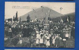 CORPS    Inauguration Du Monument Aux Morts  En 1921      Animées - Corps