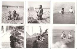 15 Photos Anciennes COXYDE 1964 - Garçon Plage Voiture Mer - Lieux