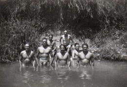 Militaria Algérie 1955 Commando Parachutistes En Entrainement - Guerre, Militaire